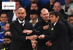 Telkomsel - Pep Guardiola Antonio Conte Chelsea Manchester City
