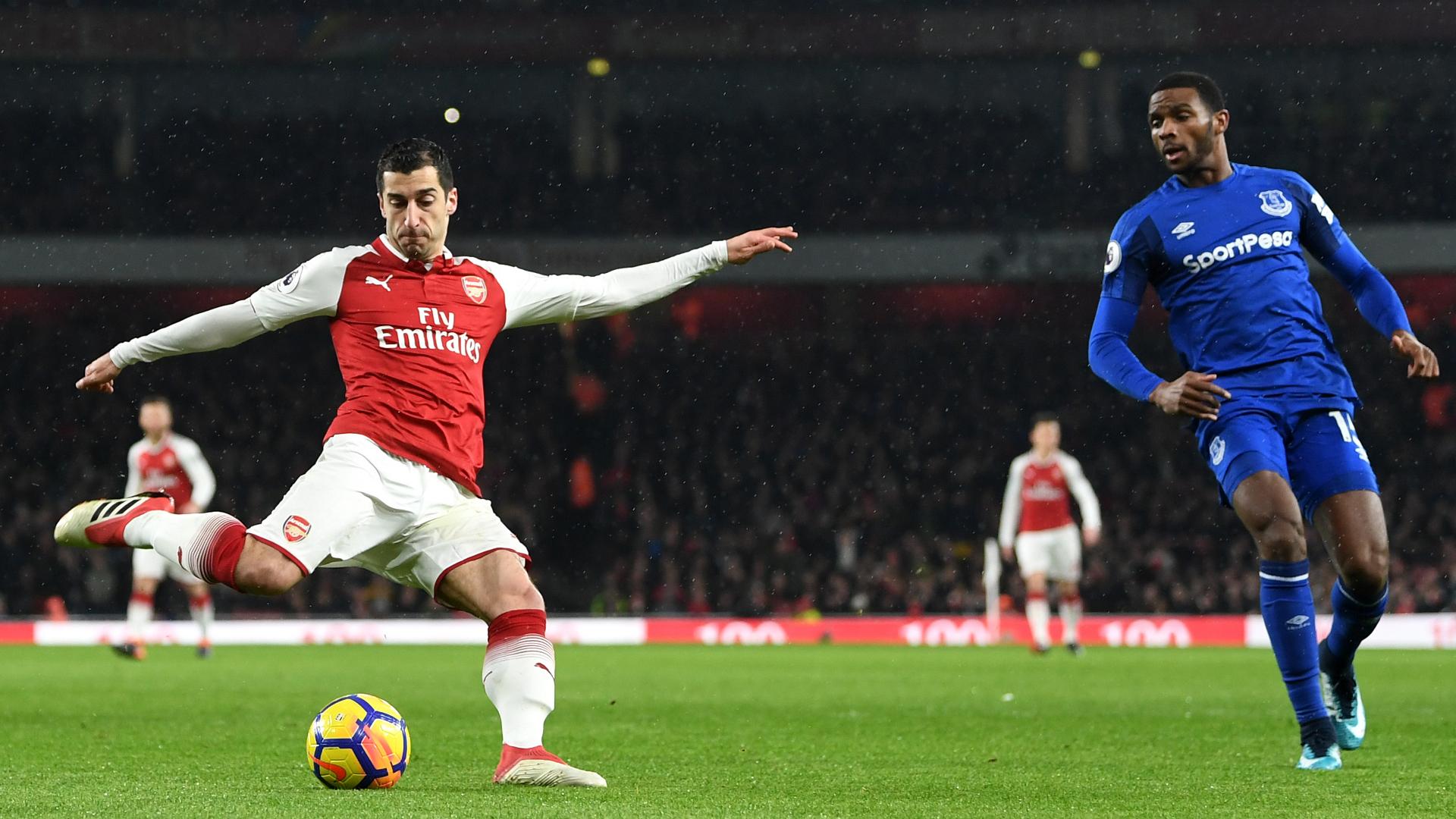 Henrikh Mkhitaryan Arsenal Everton