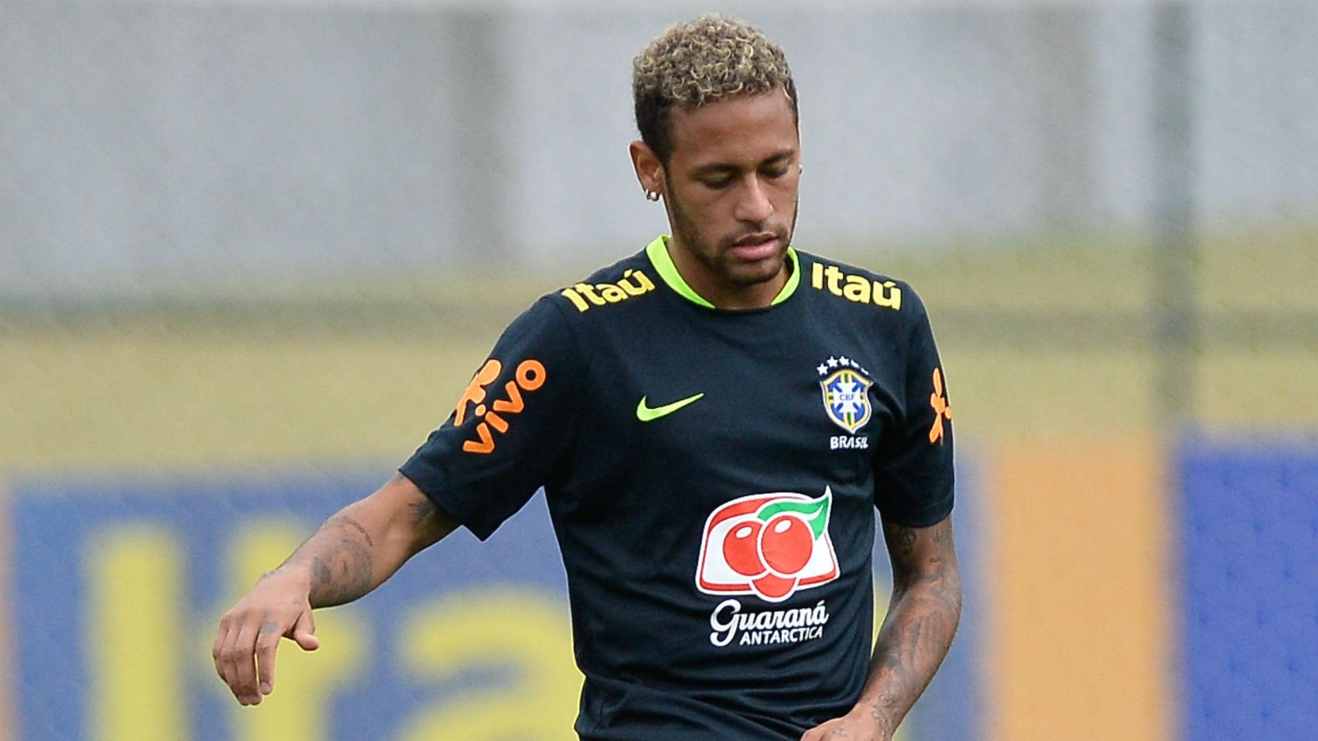 Neymar treino Seleção Brasil 03 10 2017
