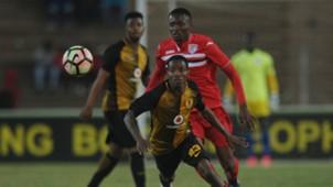 Joseph Molangoane of Kaizer Chiefs vs Free State Stars