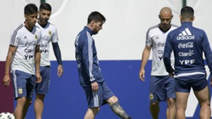 Argentina Training 2018 World Cup