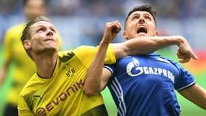 Lukasz Piszczek Borussia Dortmund Alessandro Schoepf Schalke