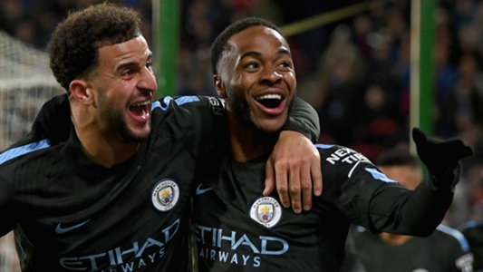 Lethal Sterling records best-ever season goal tally with latest Man City strike