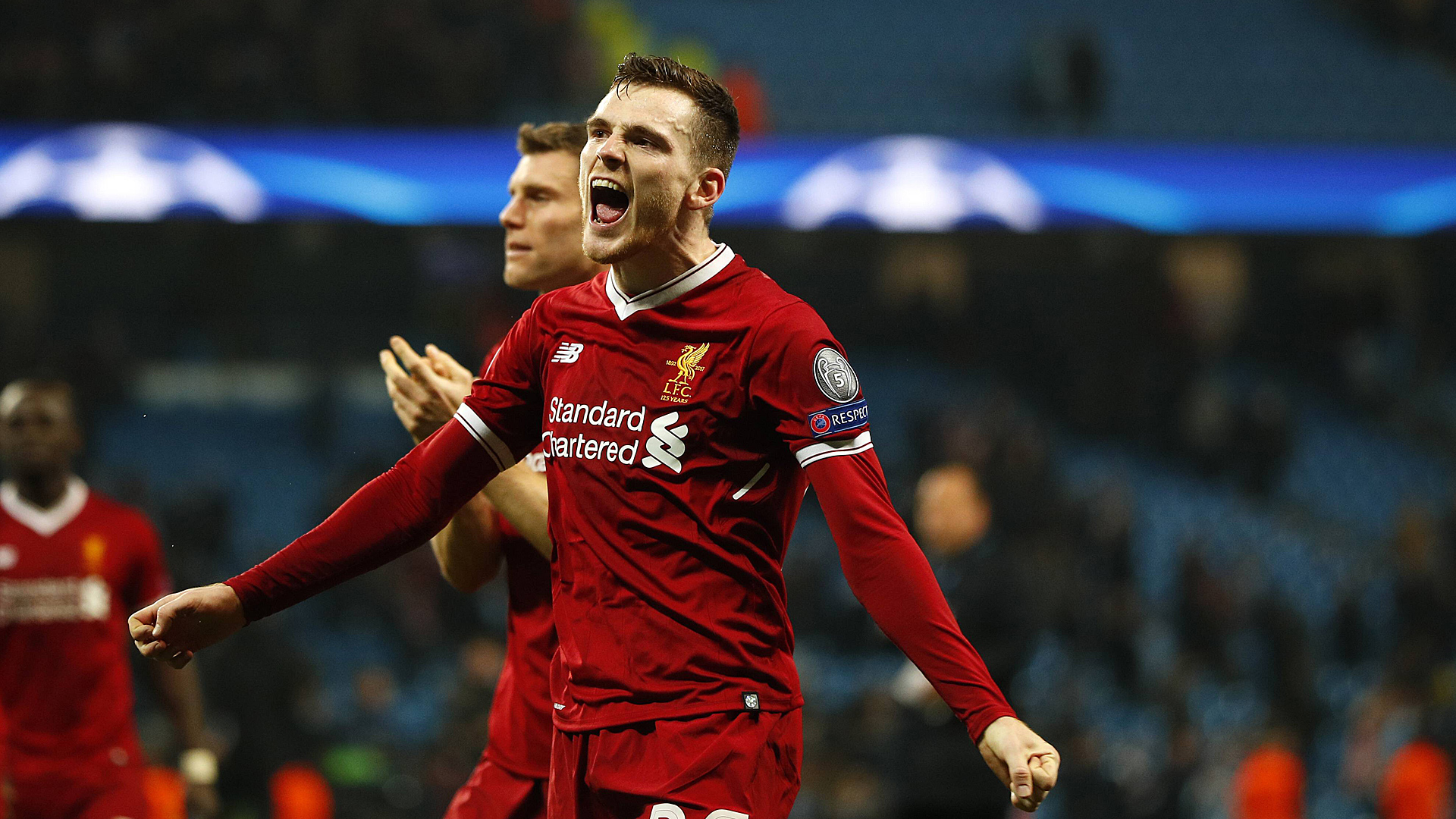 Andrew Robertson FC Liverpool Champions League