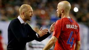 Gregg Berhalter Michael Bradley USA USMNT Gold Cup 2019