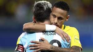 Neymar Messi Argentina Brazil