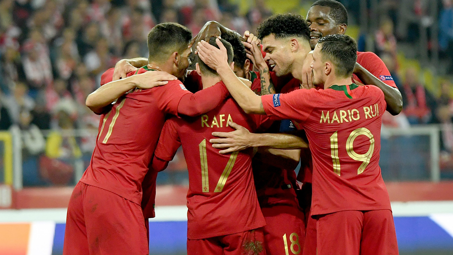 Le Portugal s'impose en Pologne — Ligue des Nations