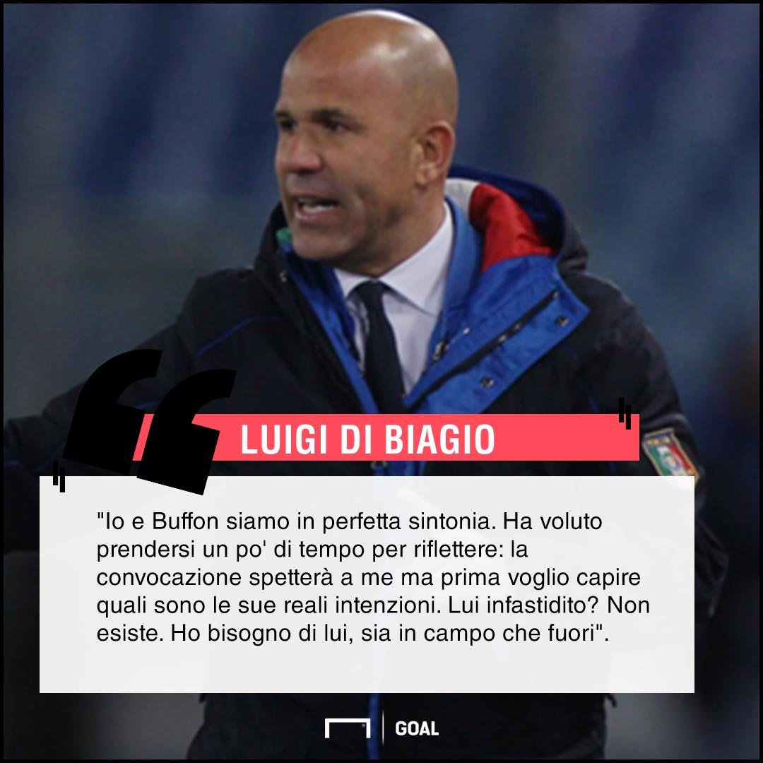 Buffon ha deciso, sarà addio alla Juve: il retroscena su Di Biagio