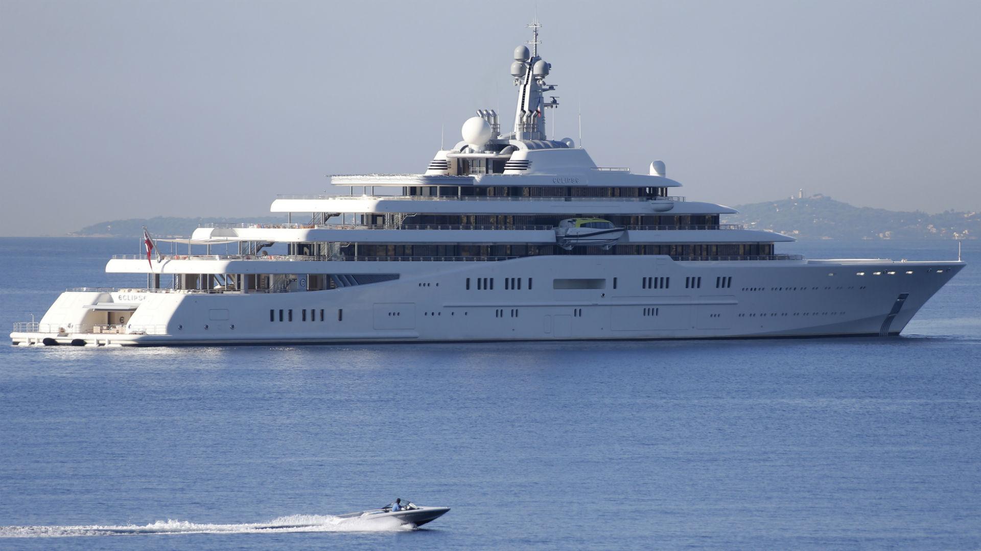Roman Abramovic yacht Eclipse
