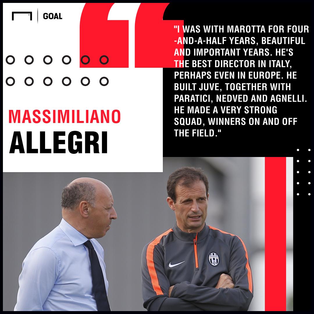 Beppe Marotta Allegri Juventus PS