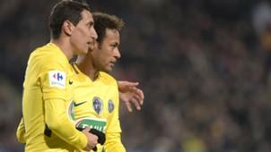 Angel Di Maria Neymar Rennes PSG Coupe de France 07012018