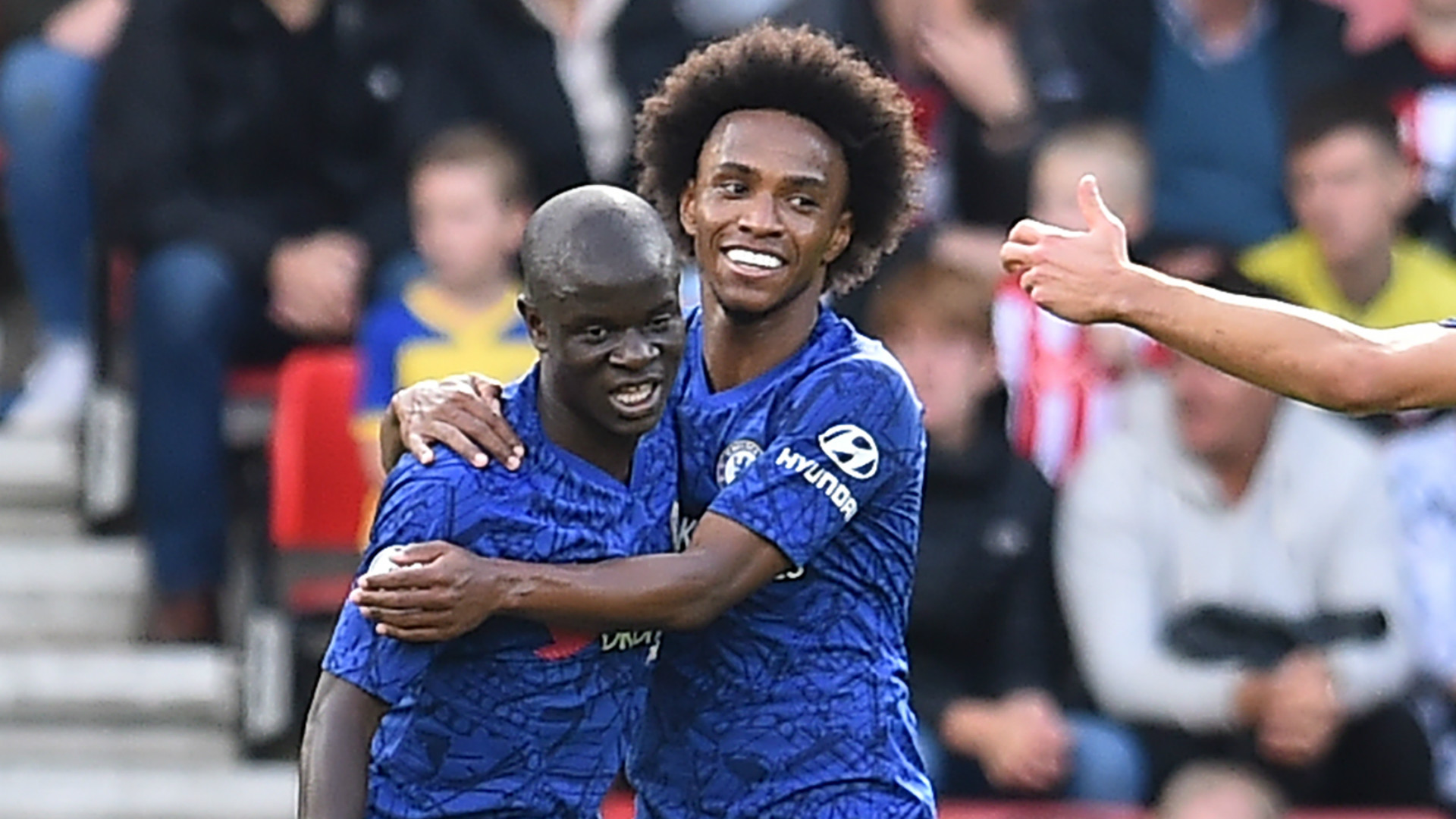 N'Golo Kante Willian Chelsea 2019-20
