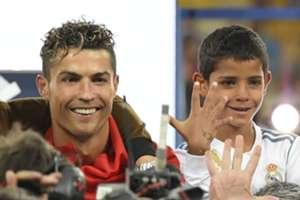 Ronaldo & his son