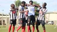 Ushuru FC Players in action.