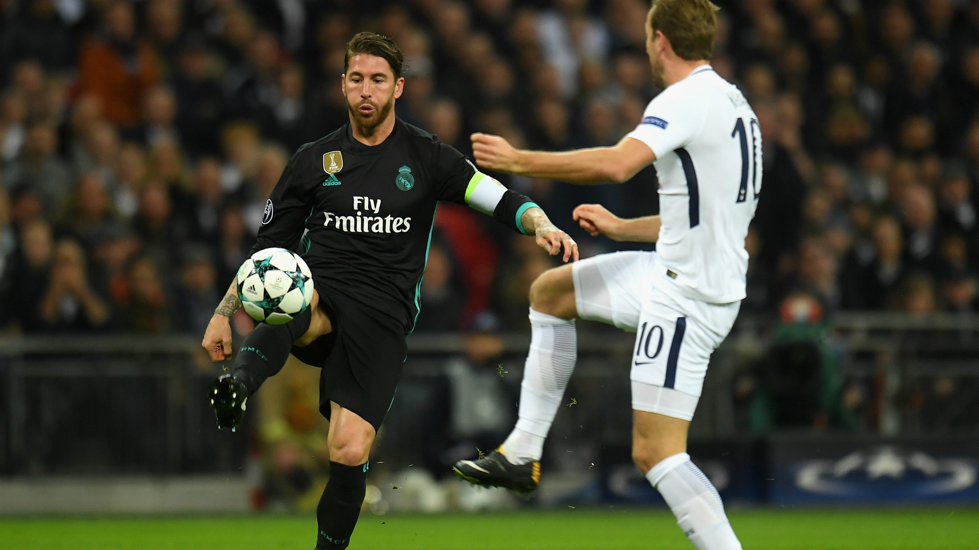 Sergio Ramos Harry Kane Tottenham Real Madrid Champions League