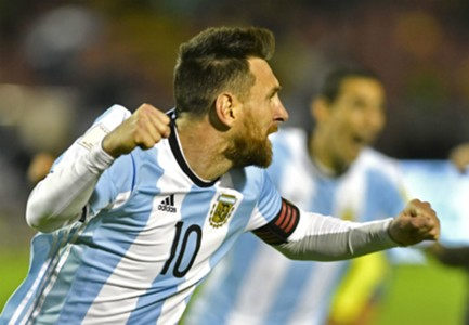 Messi Ecuador Argentina Eliminatorias 10102017