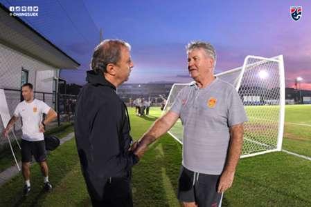 Milovan Rajevac & Guus Hiddink