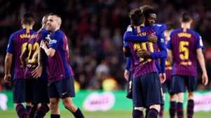 Ousmane Dembele Lionel Messi Barcelona Celta LaLiga 22122018