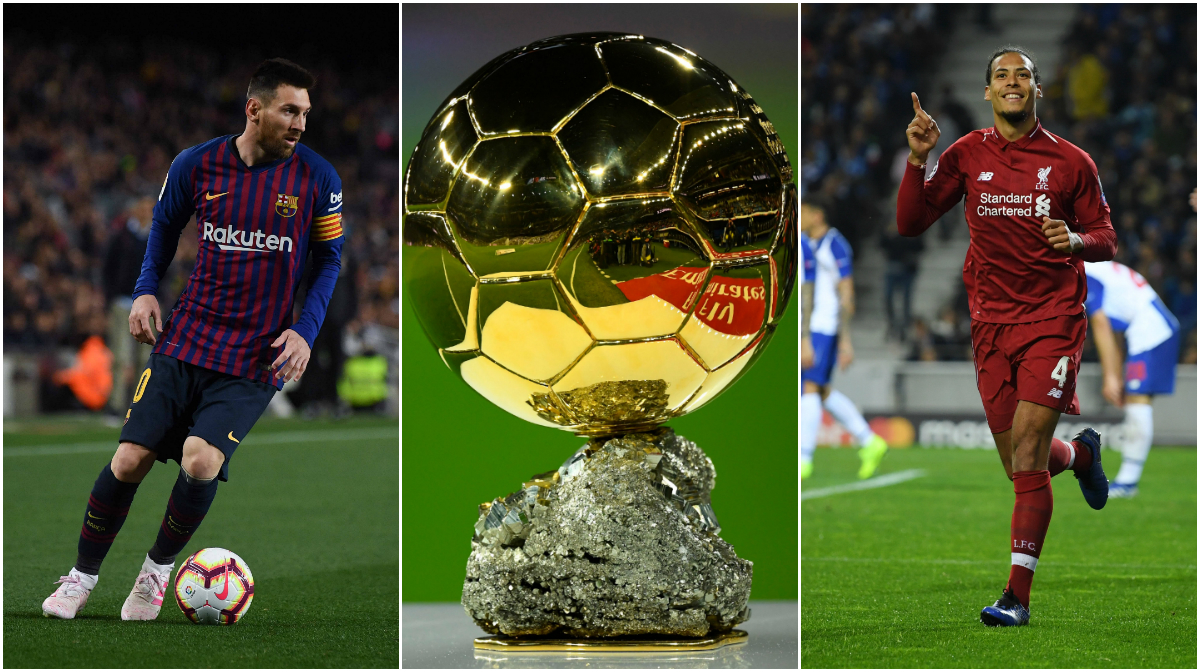 Messi  Van Dijk split