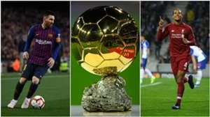 Messi/Van Dijk split