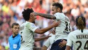 Neymar Marquinhos Nice PSG Ligue 1 29092018