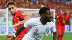 Danny Rose England Belgium World Cup