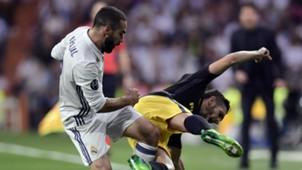 Dani Carvajal Real Madrid Atletico Madrid Champions League