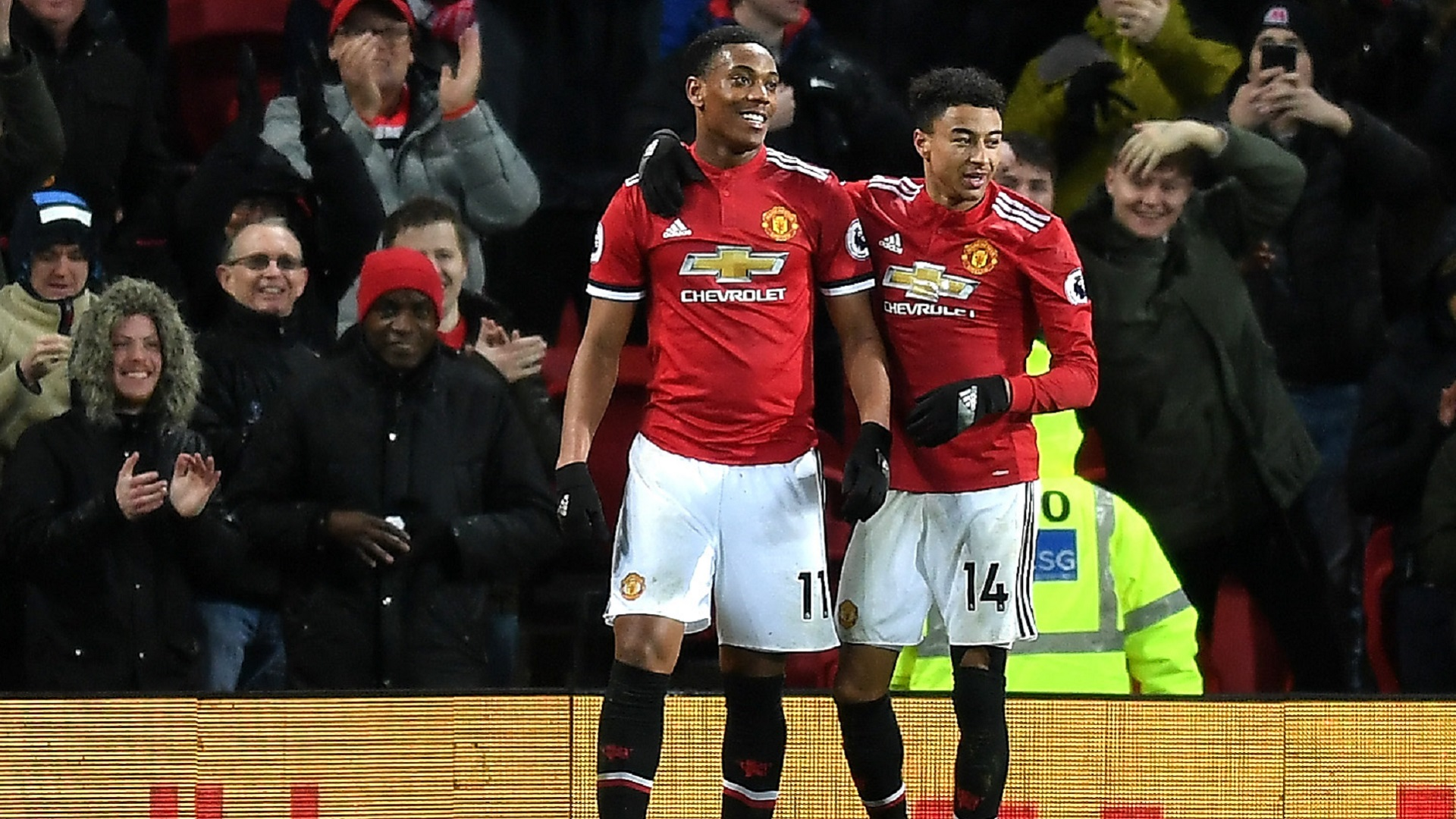 2018-01-16 Martial Manchester United