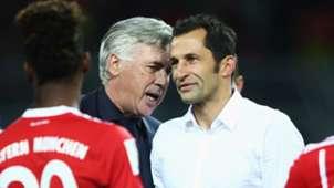 Carlo Ancelotti Hasan Salihamidzic Bayern Munich