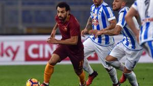 Mohamed Salah Roma Pescara Serie A 27112016