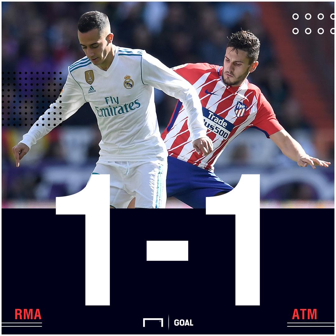 Real Madrid Atleti score