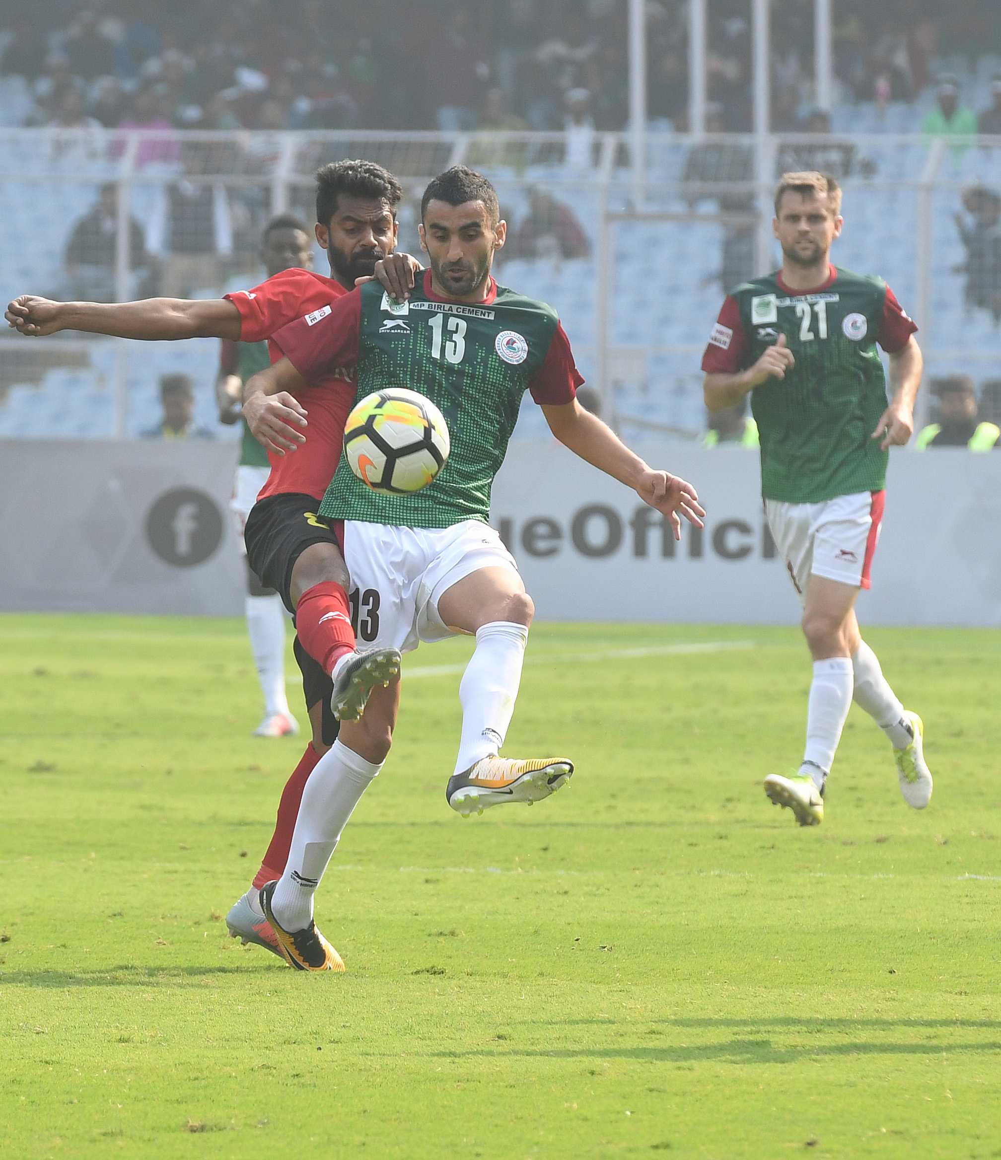 Akram Moghrabi East Bengal Mohun Bagan 2017-18 I-League Kolkata Derby