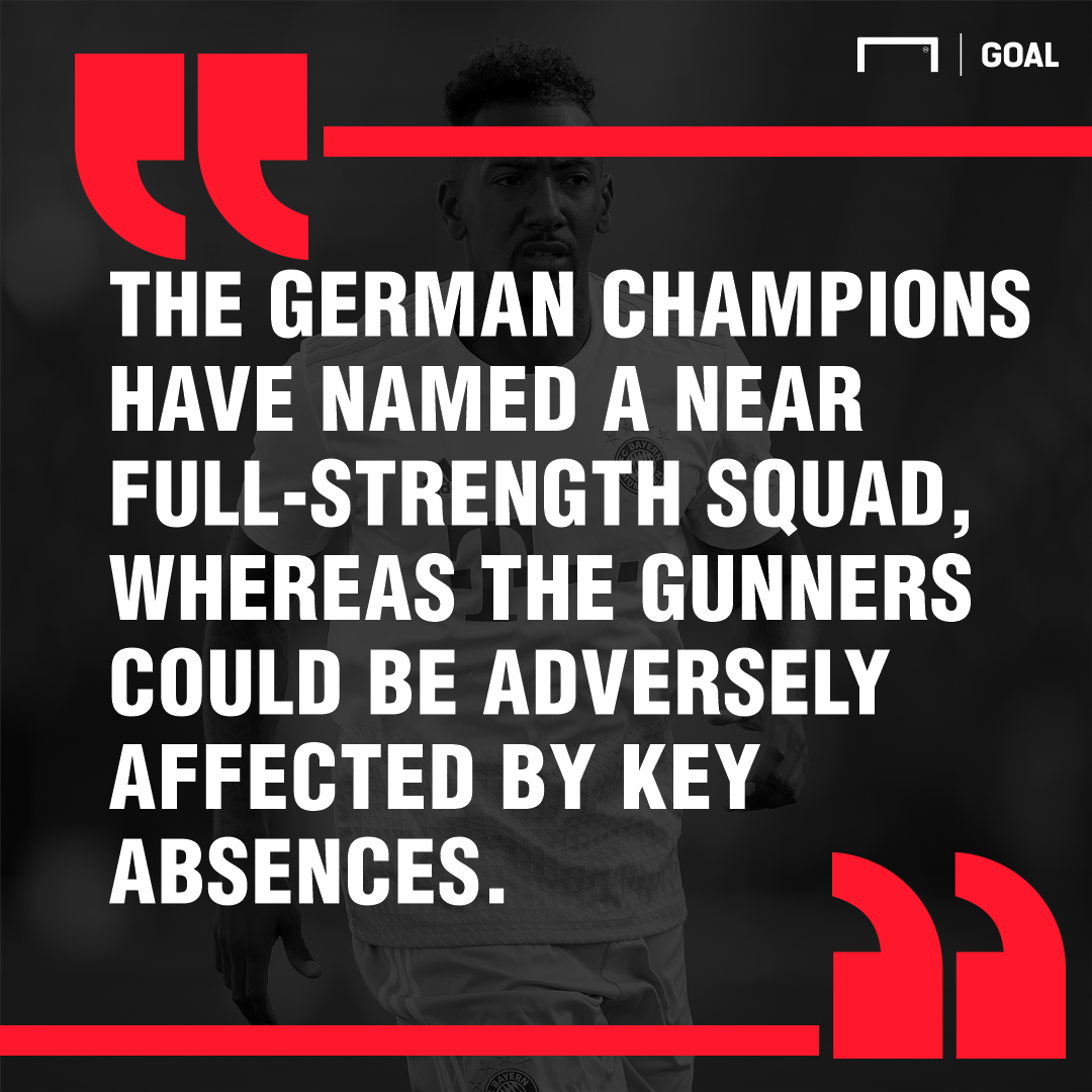 Arsenal vs Bayern Munich Betting Tips: Latest odds, team