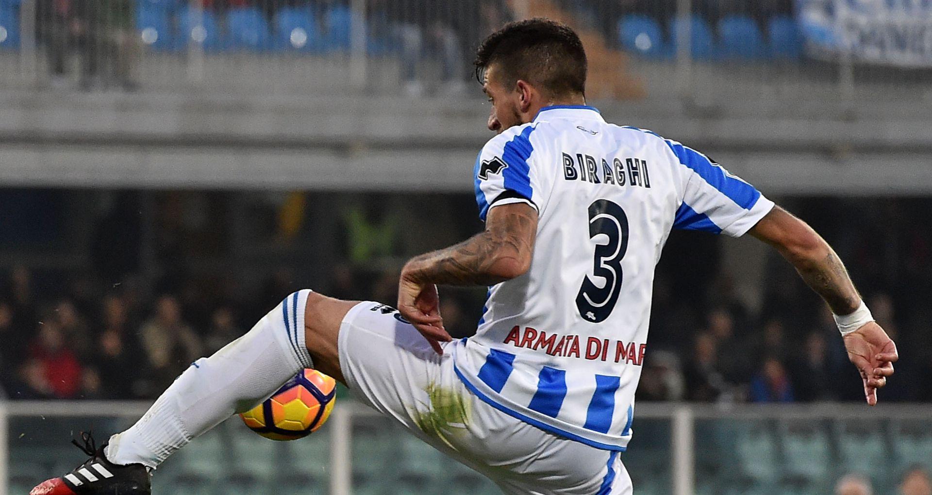 """Fiorentina, arriva anche il terzino sinistro: preso Cristiano Biraghi dal Pescara"""""""