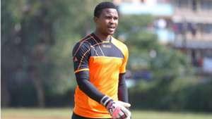 Keeper Jeff Oyemba of Kariobangi Sharks.