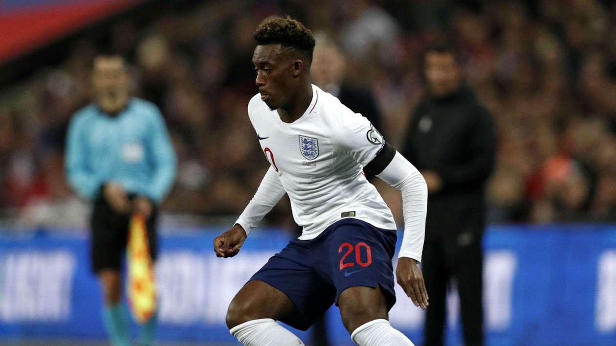 Hudson-Odoi breaks 64-year-old record in England win