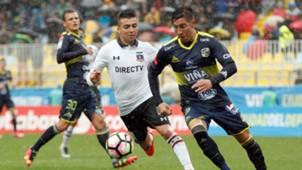 Gonzalo Fierro Franco Ragusa Cristián Suárez Colo Colo Everton 070517