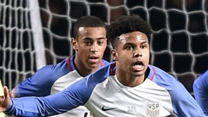Weston McKennie Tyler Adams USA 11142017