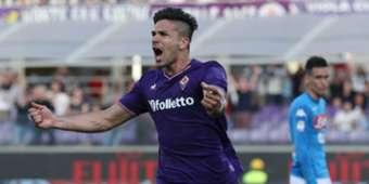 Giovanni Simeone Fiorentina Napoli Serie A