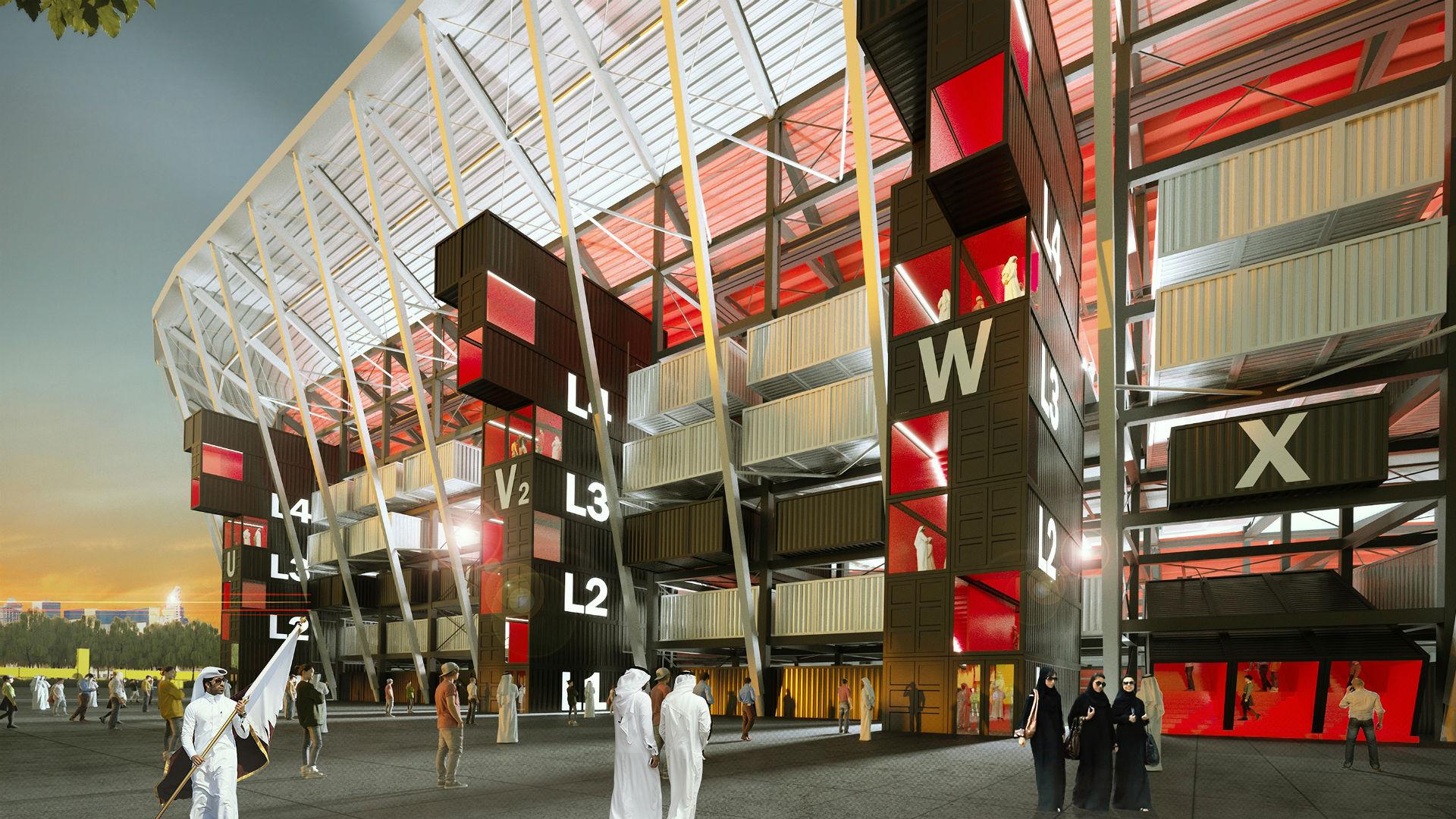 Ras Abu Aboud Stadium Qatar 2022 World Cup