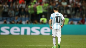 Lionel Messi Argentina Croatia World Cup 2018