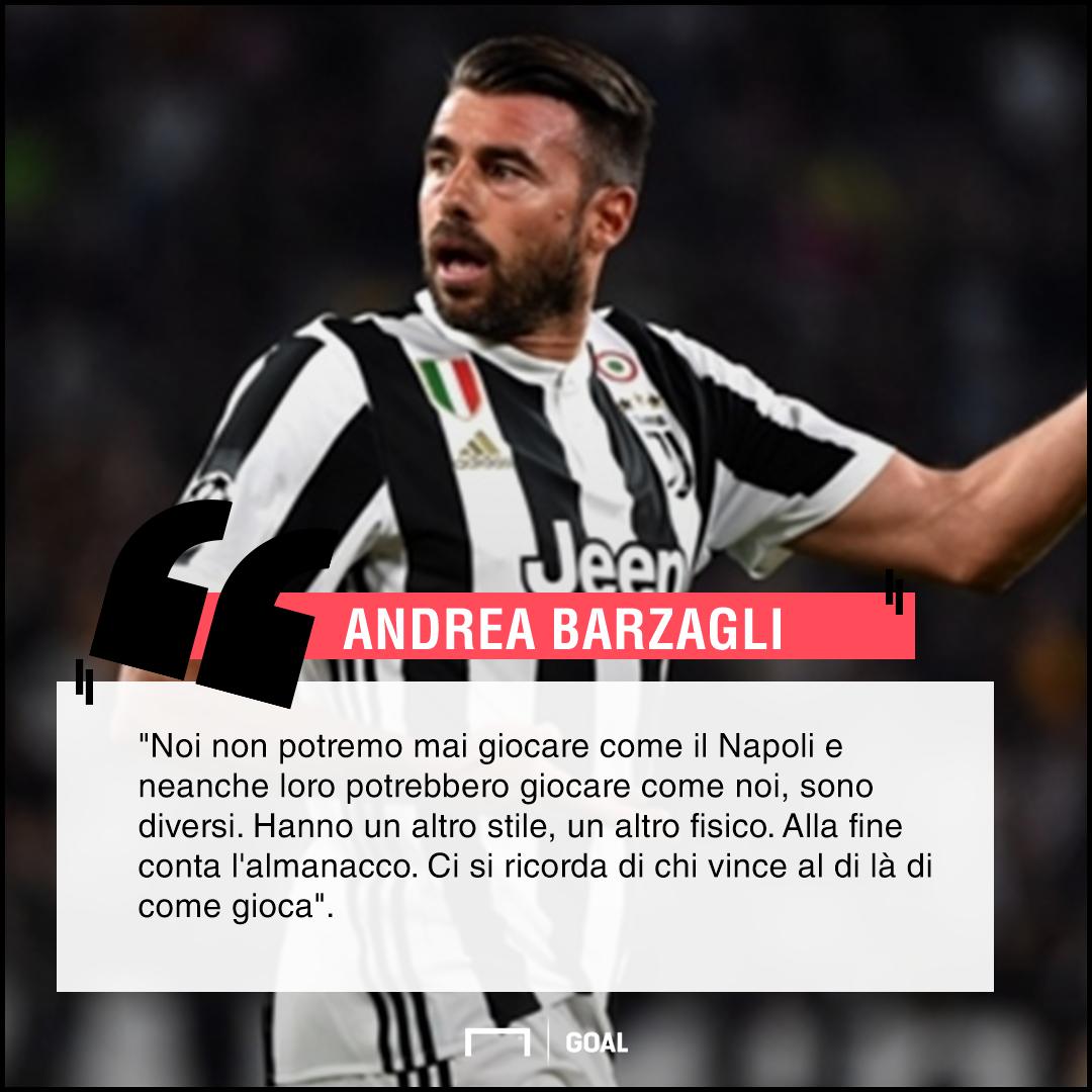 Barzagli esulta: