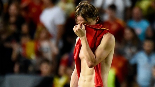 Luka Modric Croatia Spain 11092018