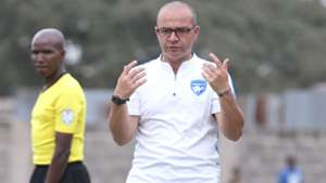 Mount Kenya United coach Melis Medo.