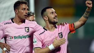 Ilija Nestorovski Palermo Pro Vercelli Serie B
