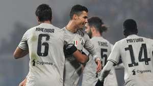 Cristiano Ronaldo Juventus celebrating