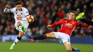Mauro Zarate Manchester United Watford