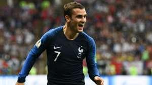 Antoine Griezmann France Croatia World Cup final 2018