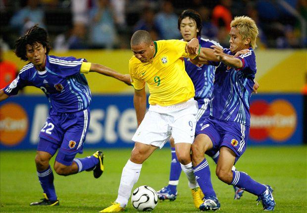 Ronaldo Brasil x Japão