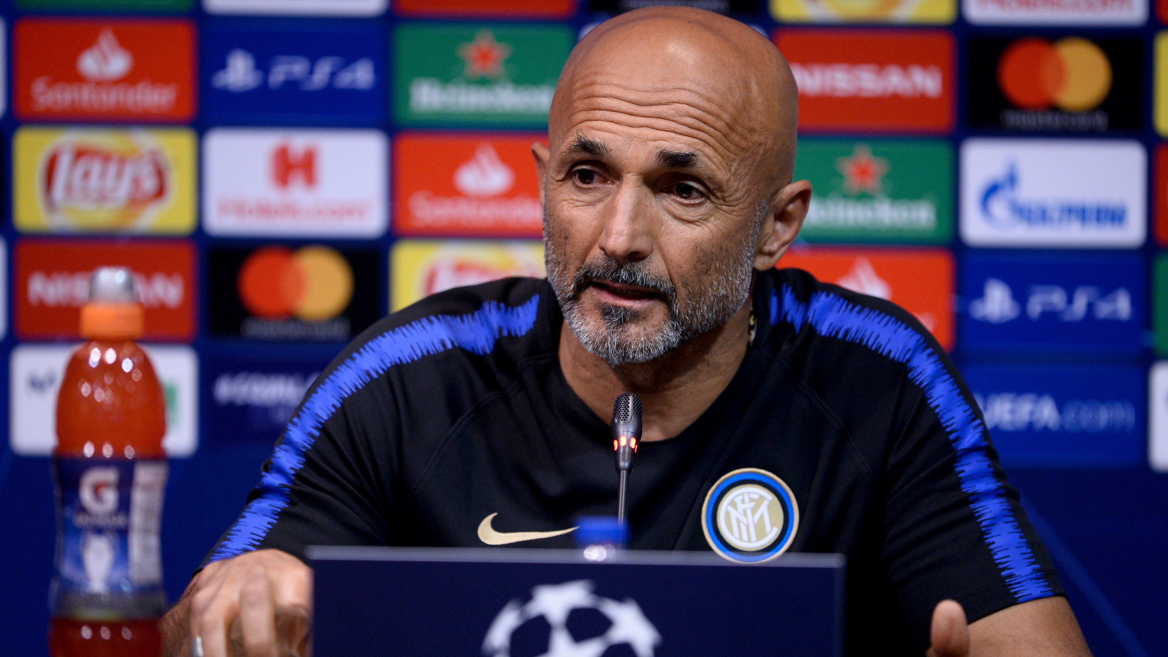 Spalletti Inter press conference